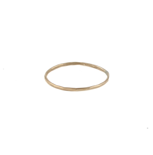 Thin Gold Ring : Rings : Handmade Jewelry by Peggy Li Creations