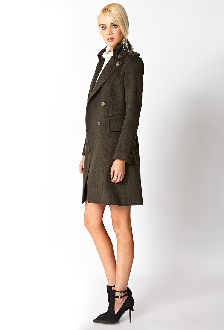 Trench-coat Croisé Classique | FOREVER21 - 2000050405