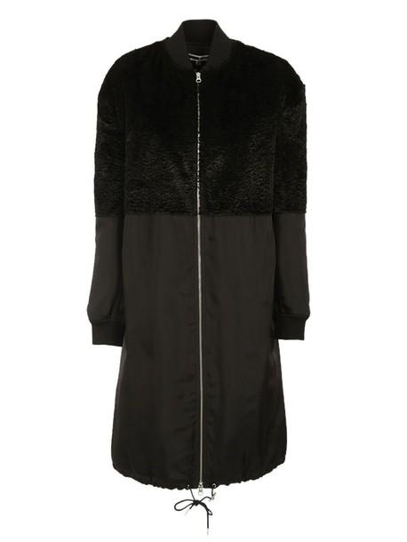 coat zip black