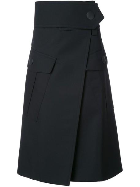 MARNI skirt maxi women black wool