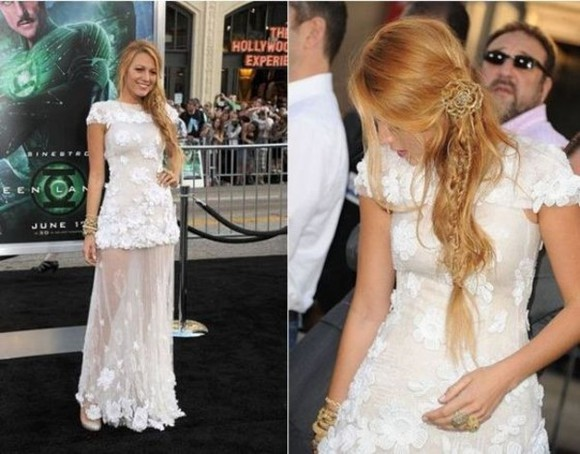 blake lively dress white dress