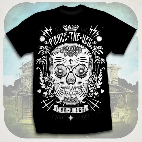 Sugar Skull Black : Pierce The Veil