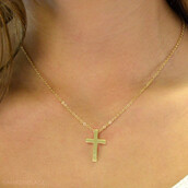 jewels,cross necklace,gold cross,dainty necklace,small cross necklace