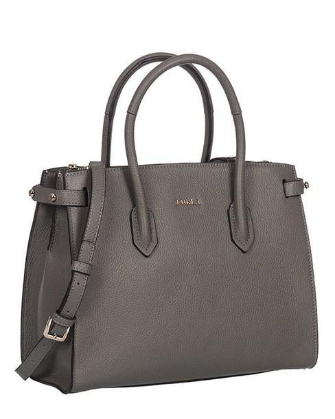 handbag leather navy bag