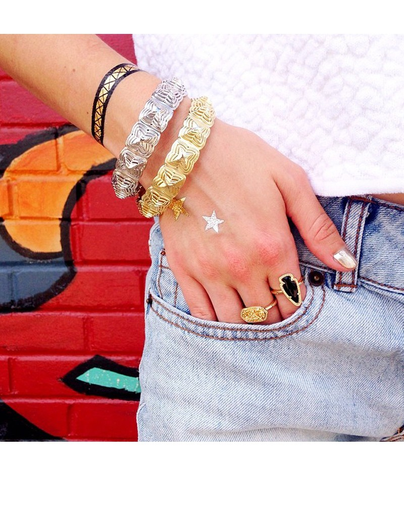 Ella Ring in Gold Drusy - Kendra Scott Jewelry