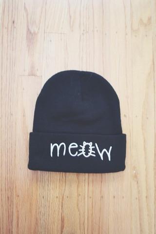 Meow beanie | Theloveofpretty