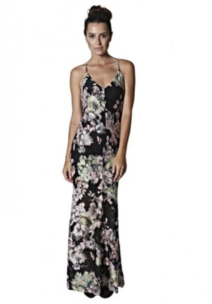 dress black floral maxi dress floral maxi dress