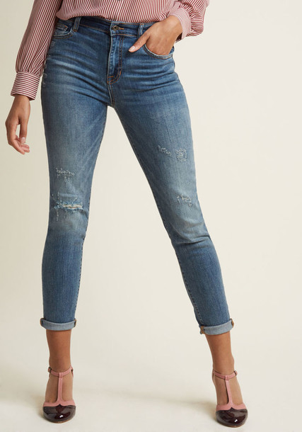 Modcloth jeans skinny jeans casual