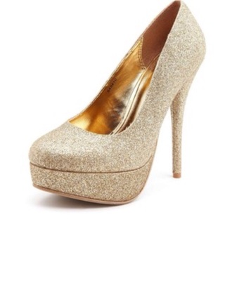 shoes gold heel gold prom heel size 8 pretty glitter heels glitter heel shoes high heels