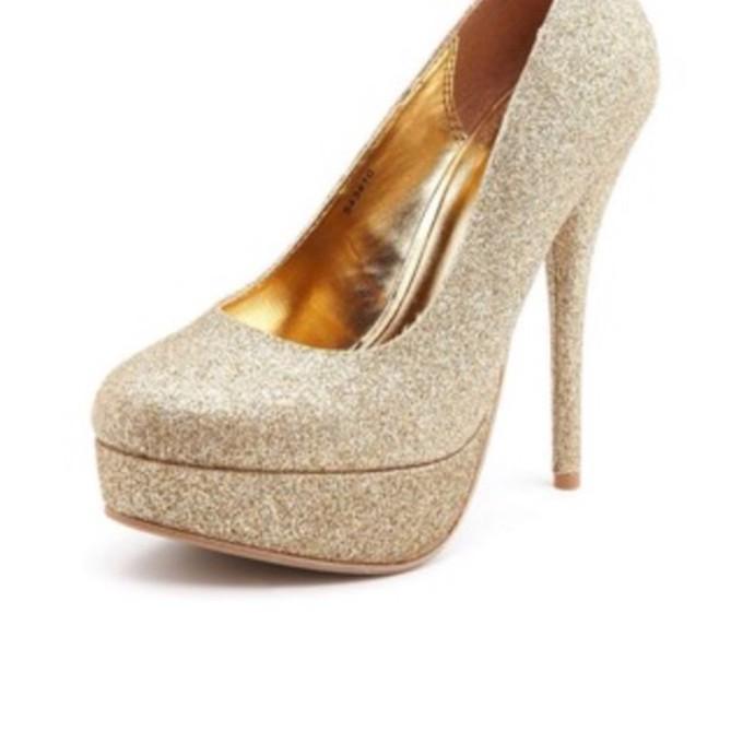 Silver Glitter Round Toe Pumps Glitter Lurex Round Toe
