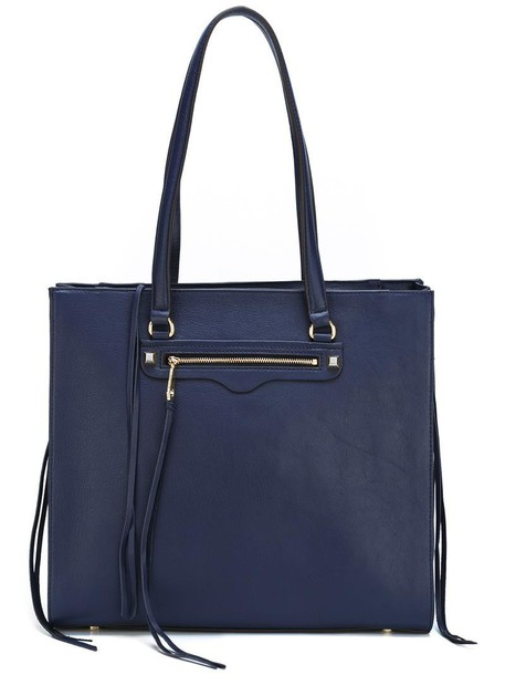 Rebecca Minkoff zip women blue bag