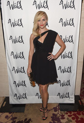 dress,little black dress,black,reese witherspoon