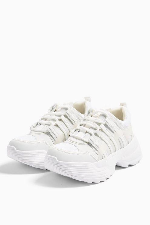 Colorado White Chunky Trainers - White