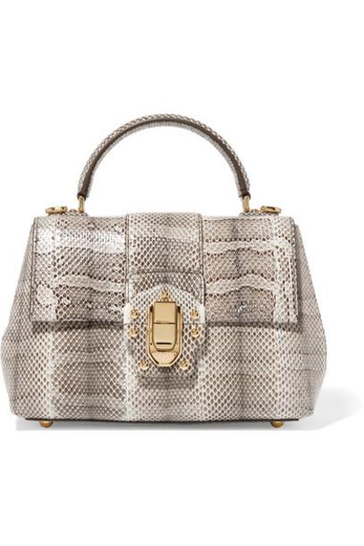 Dolce & Gabbana snake print snake print bag