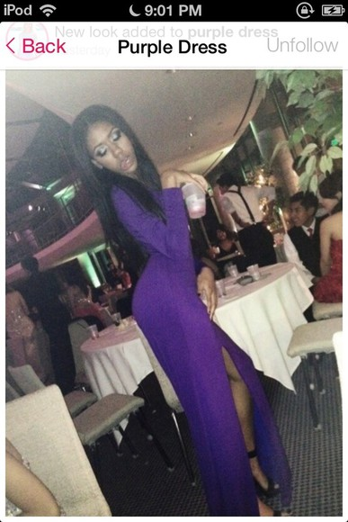 dress purple purple dress long prom dresses prom dress