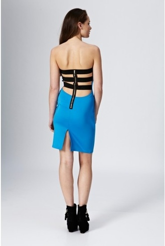 dress bar back backless dress open back sexy open back dress strap back dress strap back pretty boobtube bodycon dress