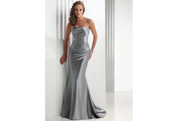 Mother Of Bride Dresses Mother Of The Bride Dress Silver Evening