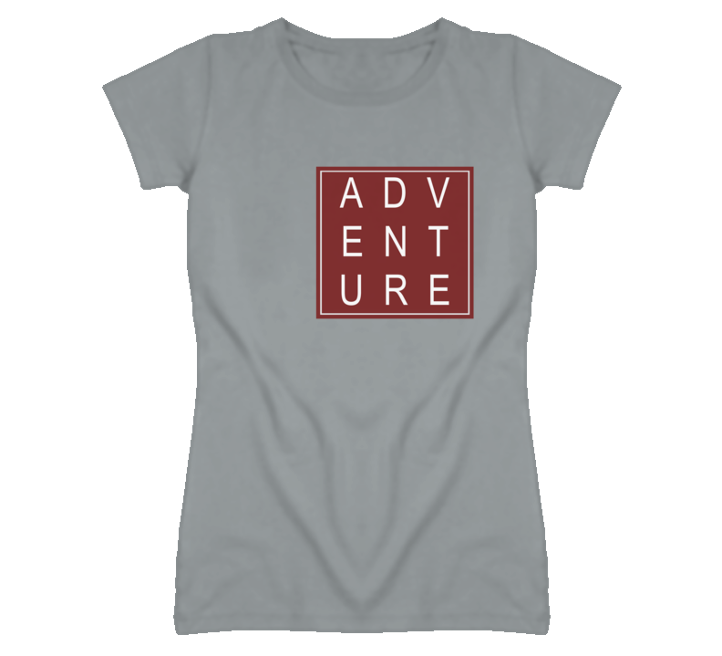 Adventure in a Square Sport Heather Grey T Shirt