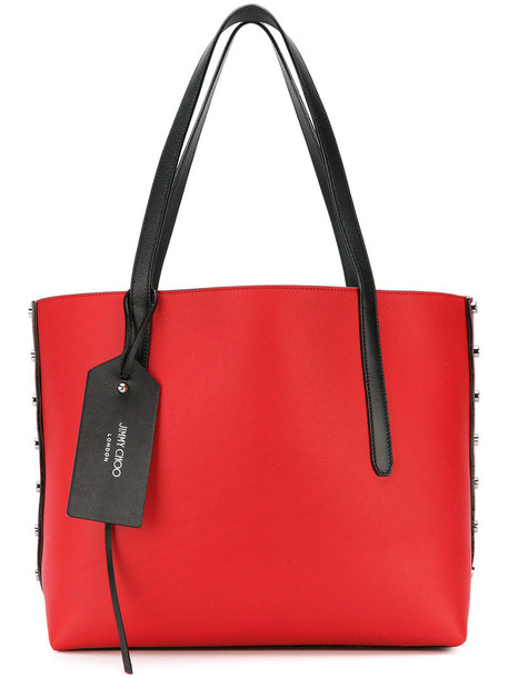 Jimmy Choo women leather red bag
