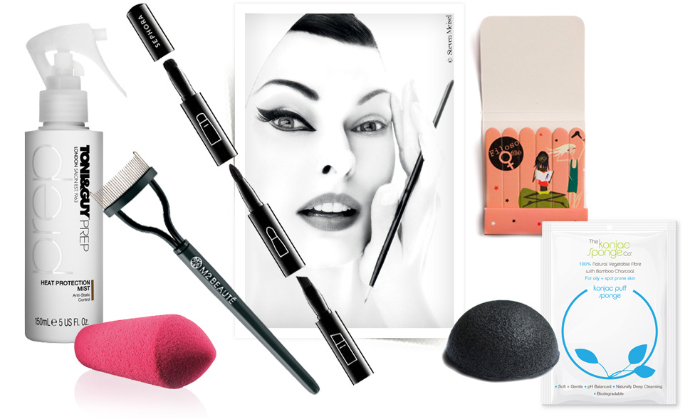 Bag of tricks, beauty, skincare, nails, hair, make-up, eyes, cheeks, lips, skincare, MAC, manicure, Sephora, lashes | Vogue English