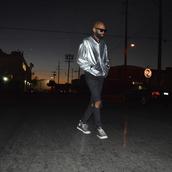 jacket,bulls of summer,silver,menswear,oversized,matalic,fashion week 2014,fall trends,streetwear,streetstyle,los angeles,la boutique,windbreaker