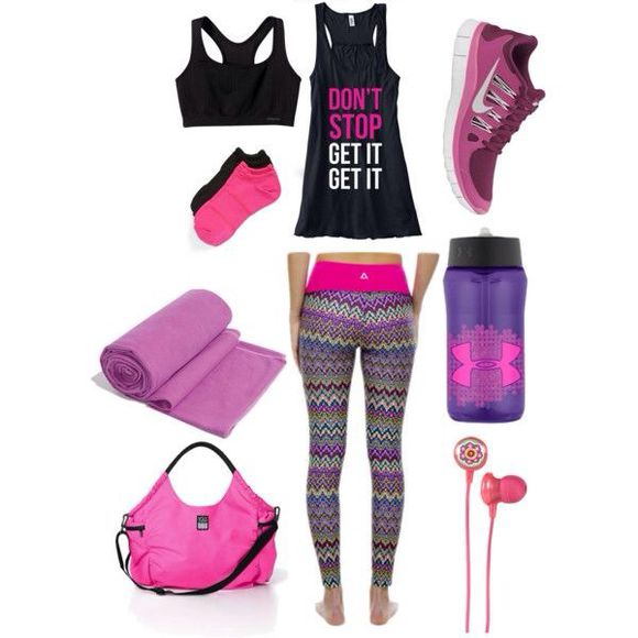 workout tank top shoes pants workout gym leggins nike, shoes, fitness