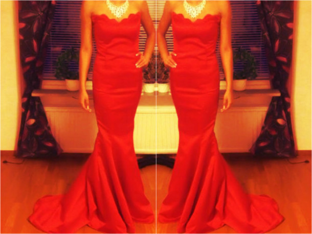 Prom Dresses Instagram Dress Red Prom Red Dress