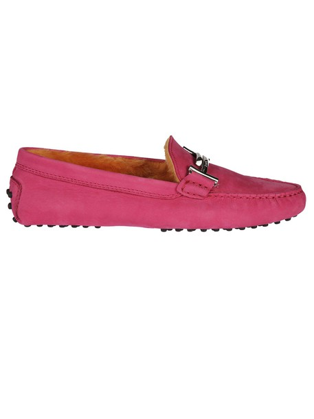 Tods loafers purple pink shoes