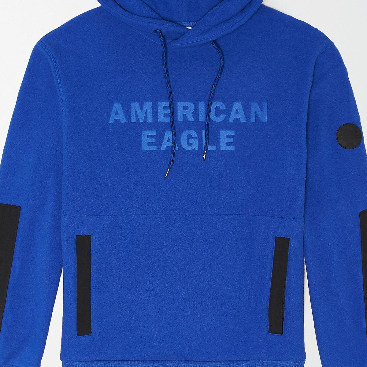 AEO Polar Fleece Logo Hoodie