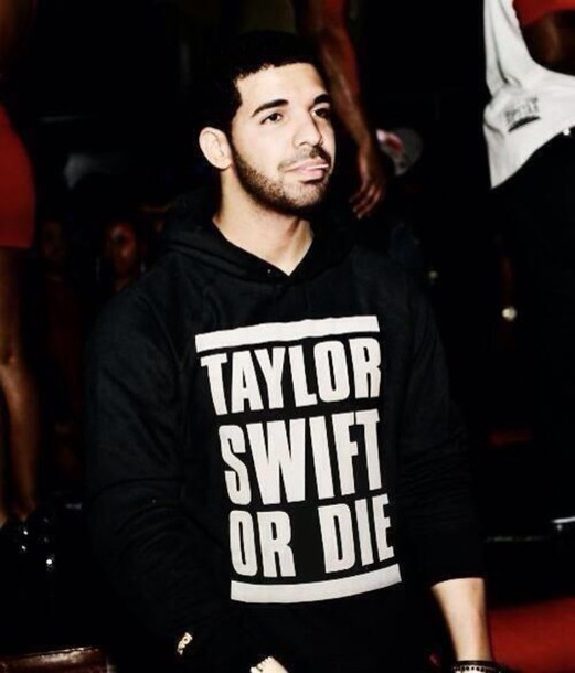 t-shirt swag taylor swift drake