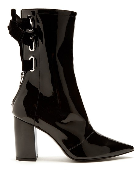 CLERGERIE leather ankle boots ankle boots leather black shoes
