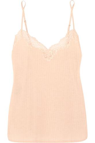 camisole lace blush underwear