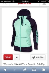 jacket,mint,black,nike,hoodie,zip up hoodie,sweater,nike sweater,teal,nike black mint,mint and black nike  zip hoodie,full zip,graphic tee,aqua,coat,nike hoodie,nike womens teal zip up jacket,light green,nike women,nike sweater hoodie turquoise grey,nike jacket,bag,beautiful,dress,colorful,blue,heels,adidas,sweatshirt,justfriends,just do it,jeans,top,tank top,necklace,turquoise,tumblr