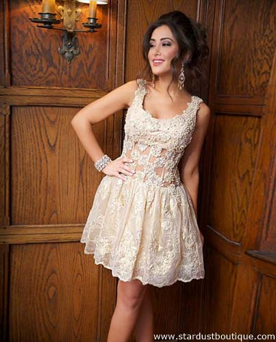 Jovani 92130 short party dress