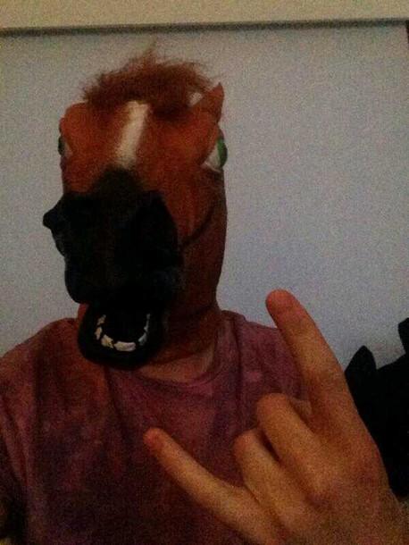 t-shirt horse twitcam