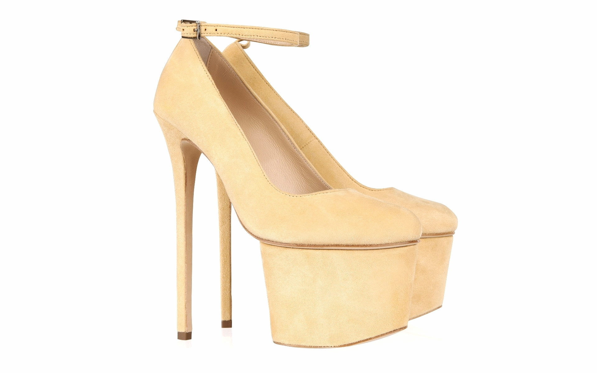 Ankle Strap Pump 7 Inch - Shop - Olcay Gulsen