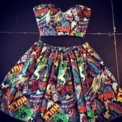 dress,thor,iron man,captain america,hulk,comics