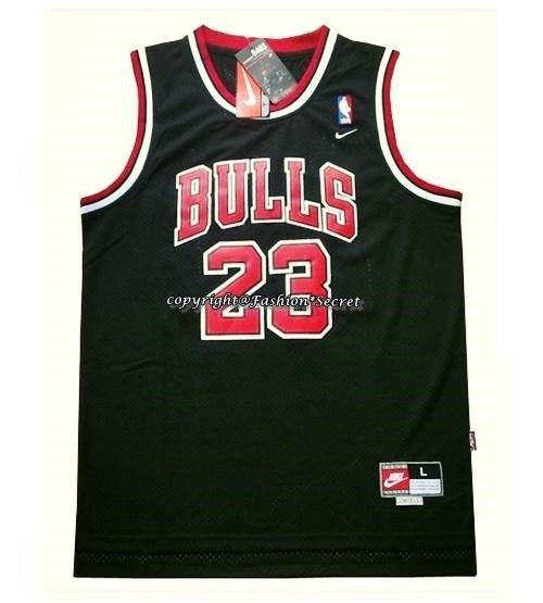 S 2XL NBA Michael Jordan 1998 Chicago Bulls 23 Black Jersey Flight 8403 Classic | eBay