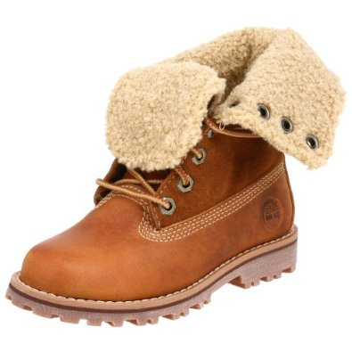"Amazon.com: Timberland Children's Authentics 6"" Shearling Boot: Shoes"