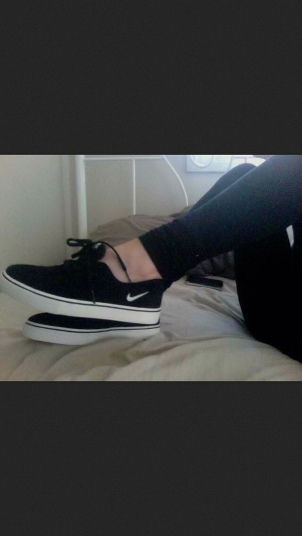 shoes nike black