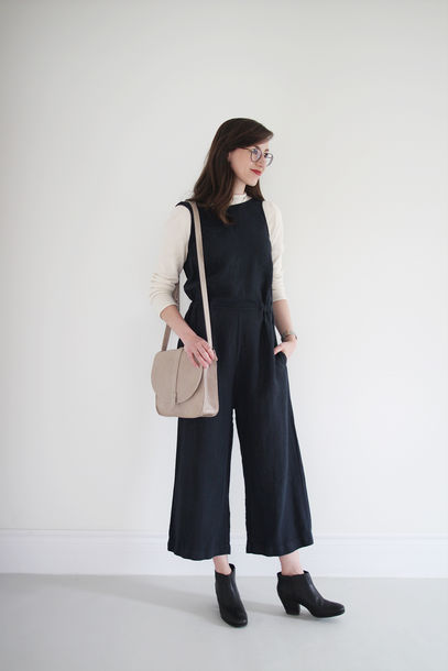 stylebee blogger coat sweater pants jumpsuit shoes bag jewels
