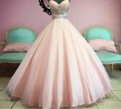 dress,pink dress,ball gown dress,cinderella,bling