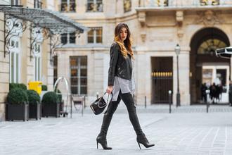 la georgienne blogger jeans shirt shoes