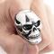 Mens huge heavy skull 316l stainless steel biker ring us size 9 10 11 12 13   ebay