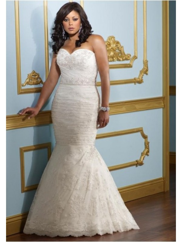 plus size wedding dress for women