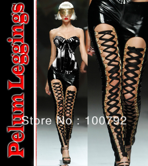 Aliexpress.com : buy plus size women celebrity brand punk rock lace faux leather new 2014 sexy shinny fitness legging celebrity leggins legging pants from reliable pants male suppliers on pelum factory outlet