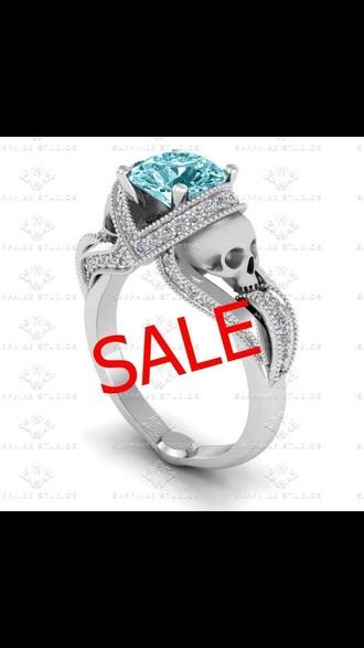 jewels ring skull ring