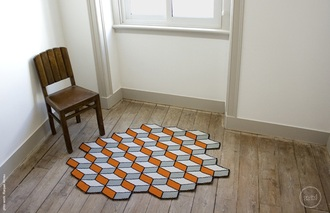 home accessory rug geometric hipster geek