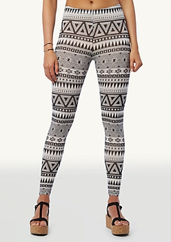 Tribal Stripes Leggings | Bottoms | rue21