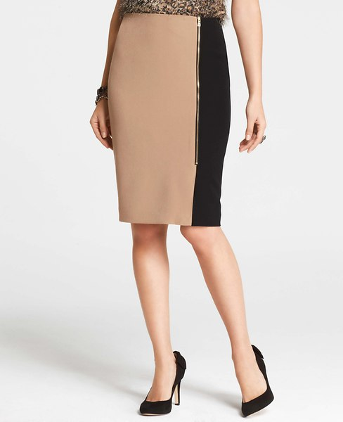 Colorblock Skirt | Ann Taylor